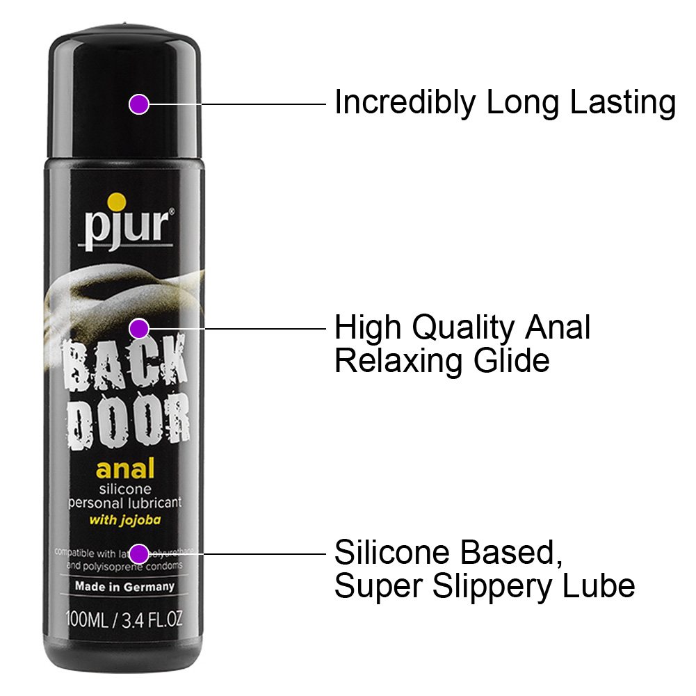 Pjur Back Door Relaxing Anal Glide Silicone Personal Lubricant 3.4 Fl.Oz 100 mL - View #1