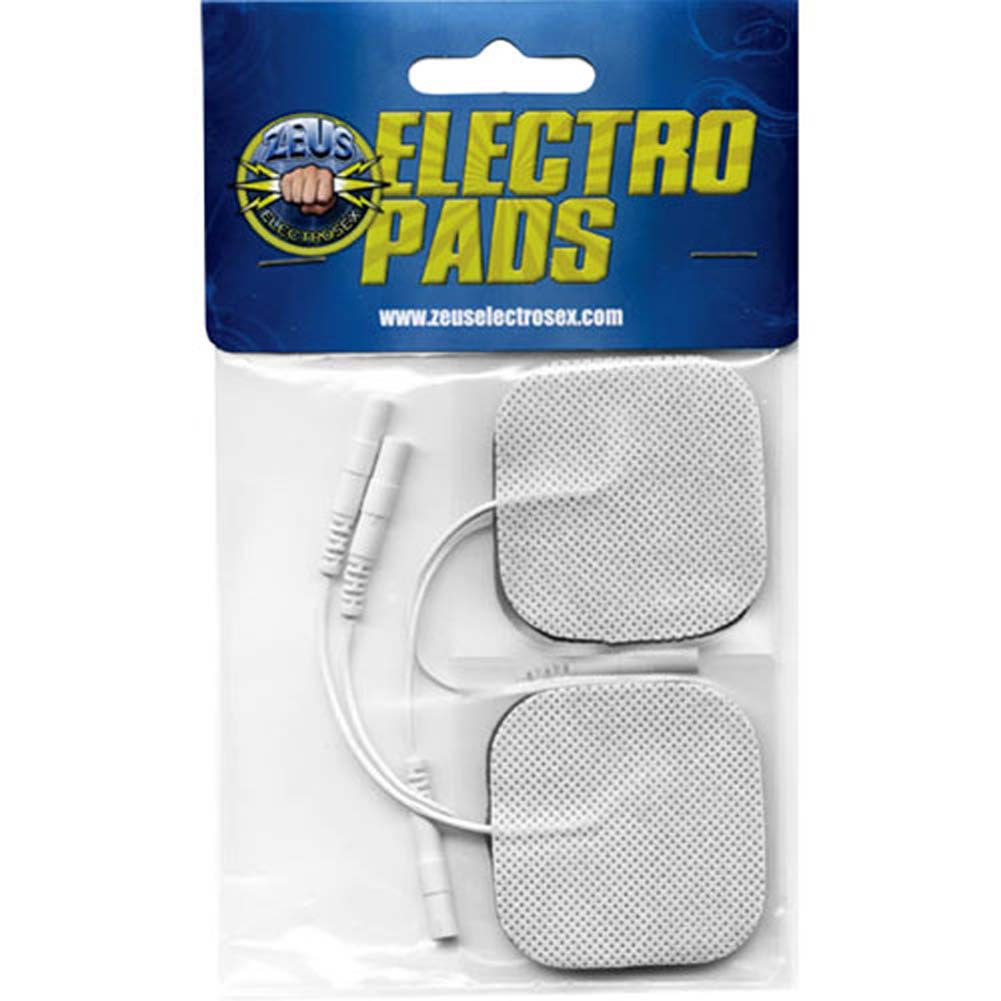 Zeus Electrosex Adhesive Electro Pads 4 Pack - View #2