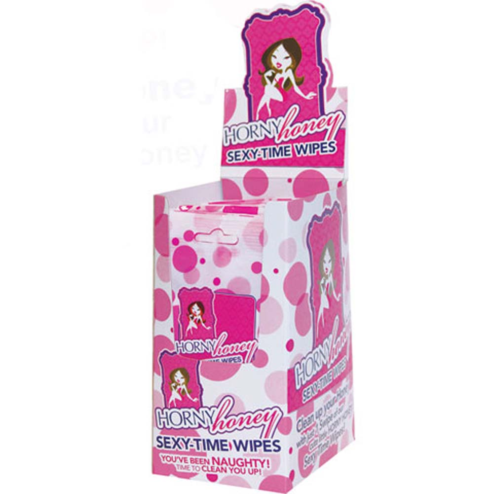 Horny Honey Sexy Time Wipes 24 Pc. Kit - View #1