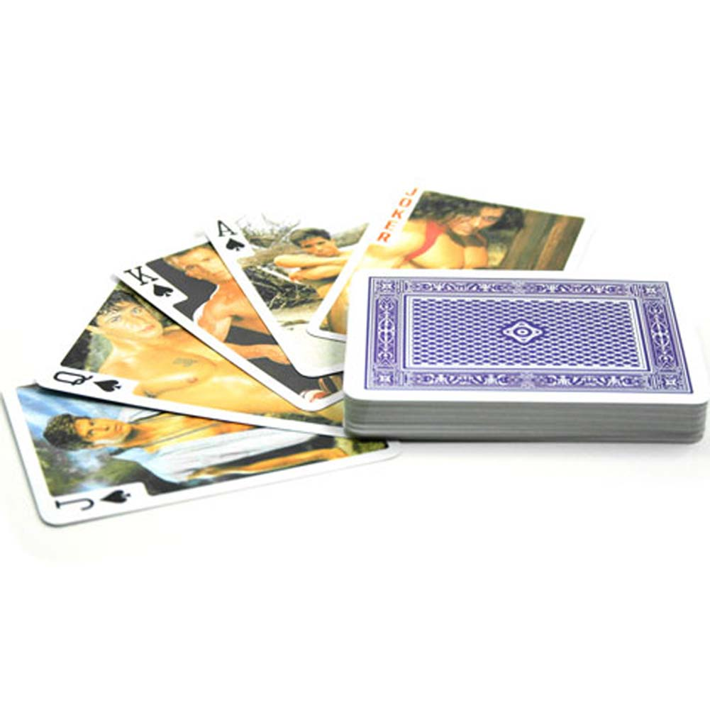 Male Nude Playing Cards - View #3