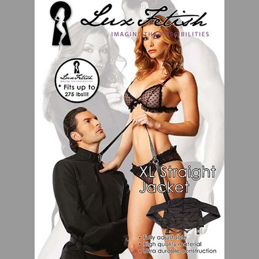 Lux Fetish Straight Jacket Large/ExtraLarge - View #4
