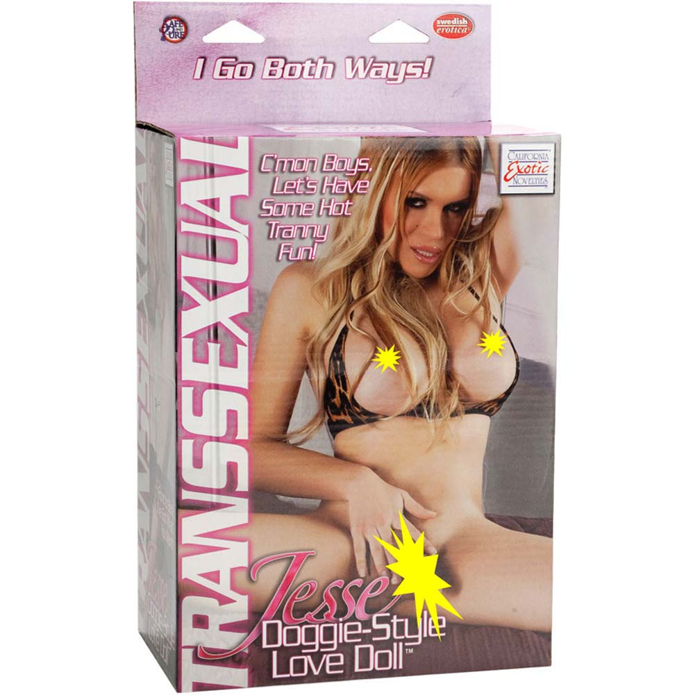 Transsexual Jesse Doggie Style Inflatable Love Doll - View #3