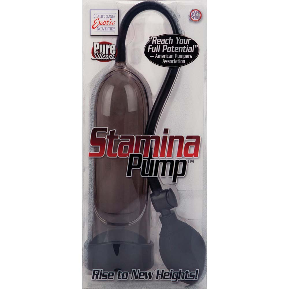 Silicone Stamina Penis Pump Black - View #3