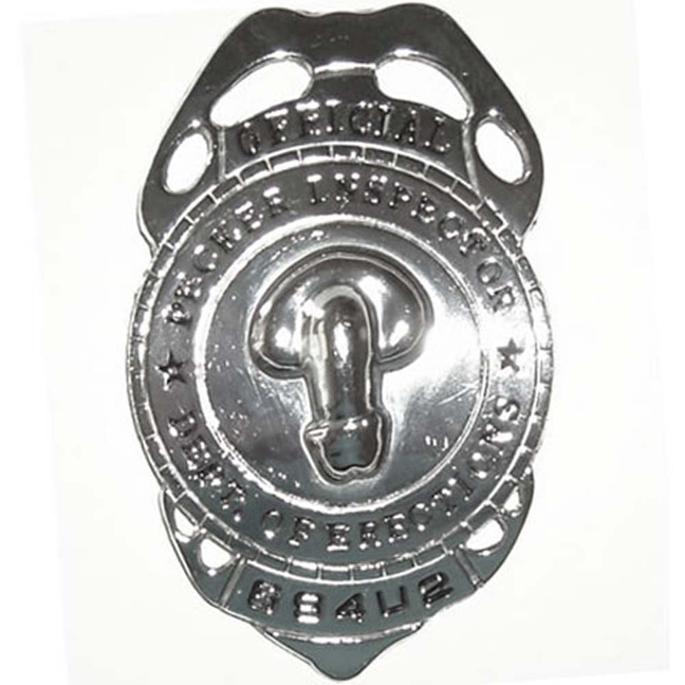 Official Pecker Inspector Badge - View #1
