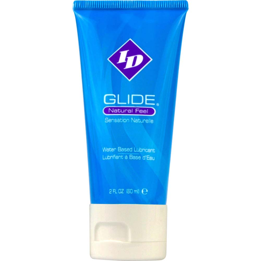 ID Glide Natural Feel Water-Based Personal Lubricant 2 Fl.Oz 60 mL Tube - View #1