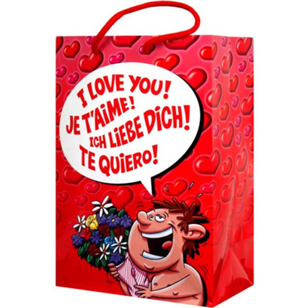 I Love You Gift Bag - View #1