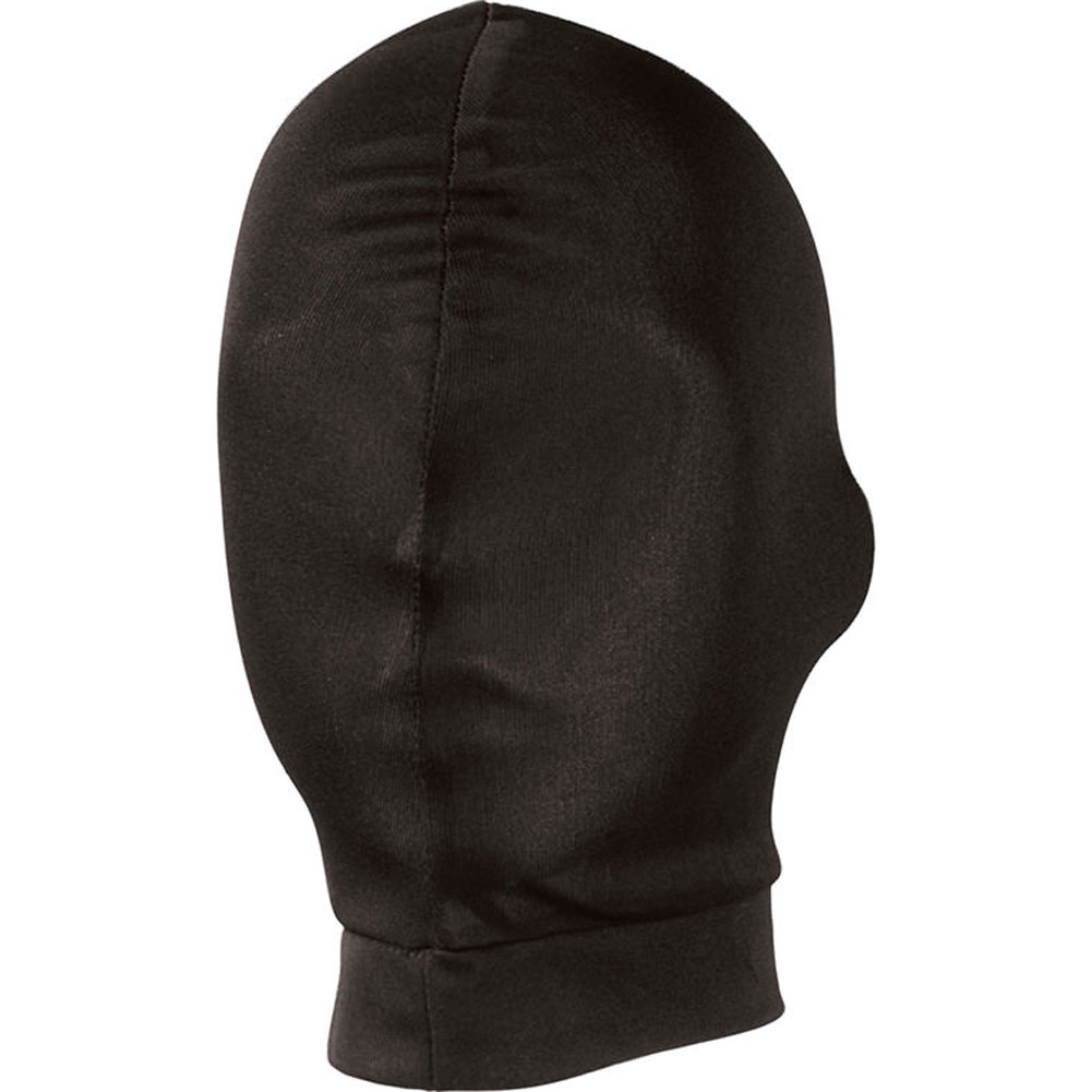 Lux Fetish Stretch Hood One Size Black - View #1