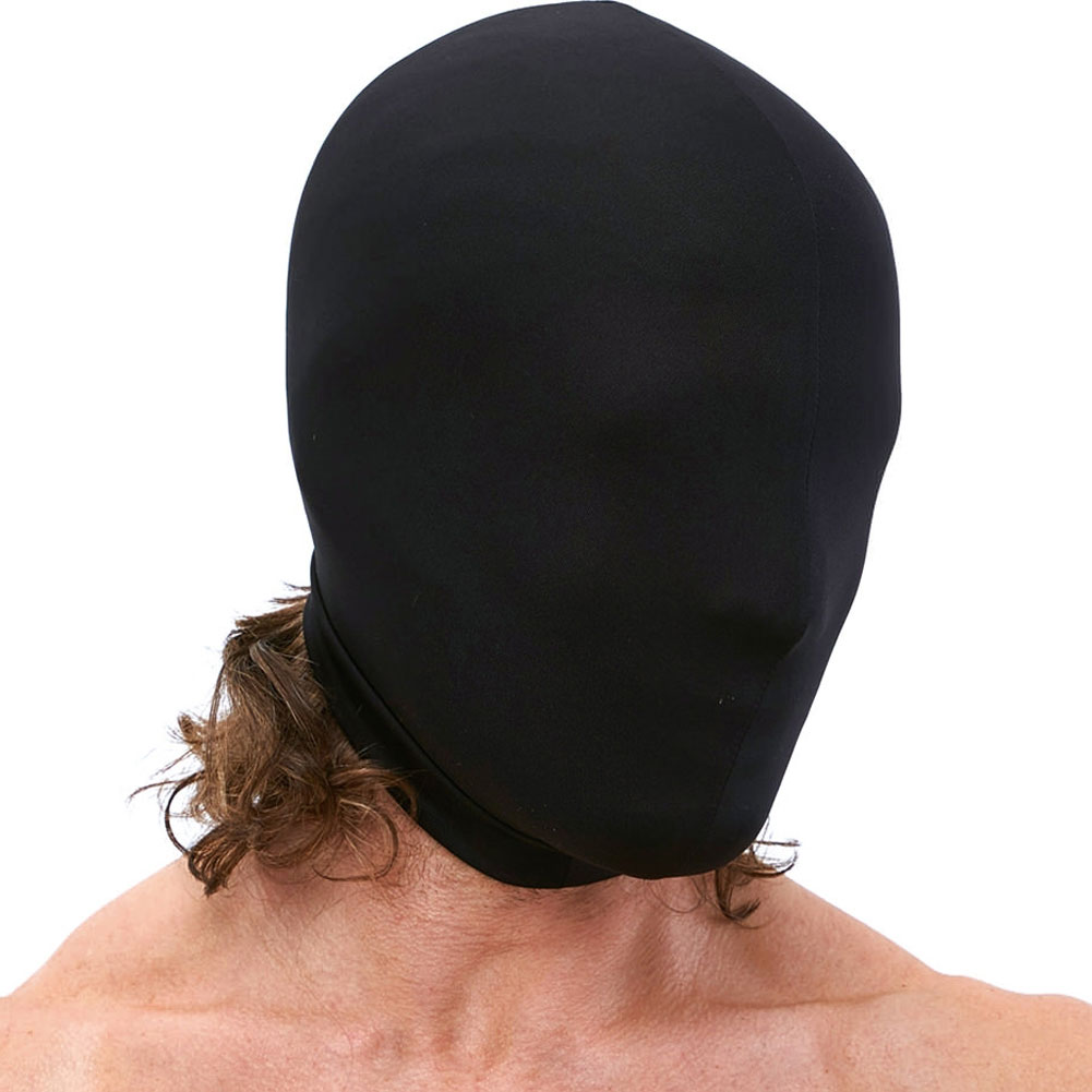 Lux Fetish Stretch Hood One Size Black - View #3