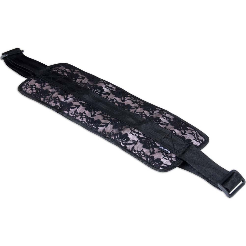 Lux Fetish Lace Doggie Style Support Black - View #2