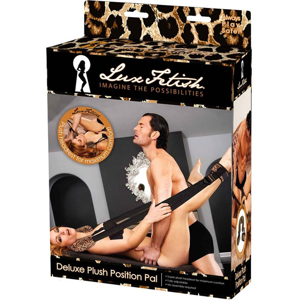 Lux Fetish Deluxe Plush Position Pal Leopard - View #4