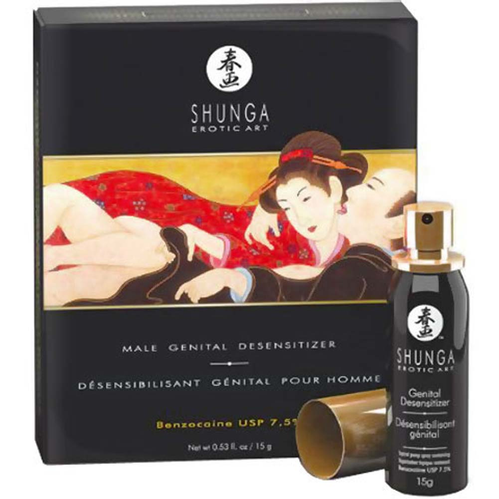 Shunga Male Genital Desensitizer Spray 0.53 Fl.Oz 15 G - View #4