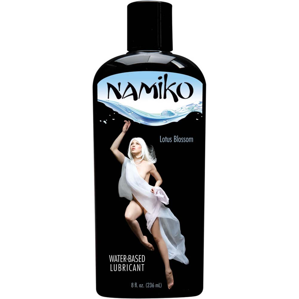 Namiko Water Based Lube Lotus Blossom 8 Fl. Oz. - View #1