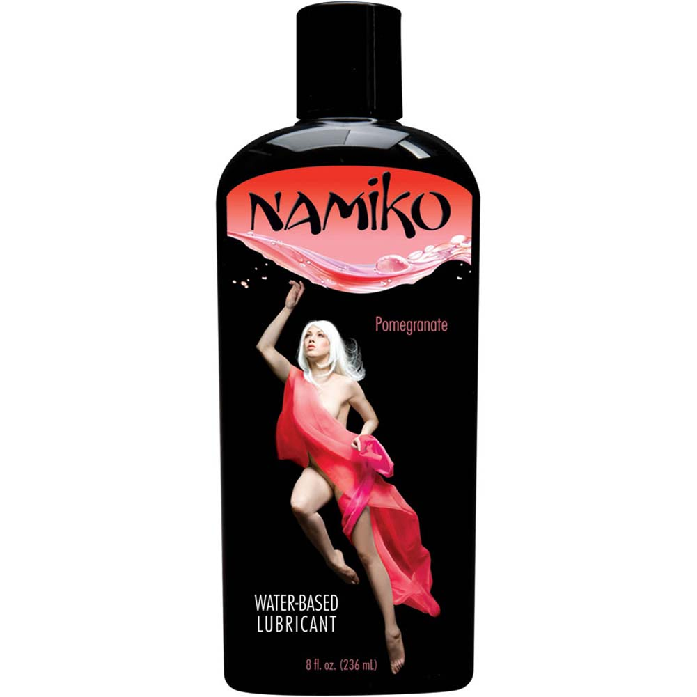 Namiko Water Based Lube Pomegranate 8 Fl. Oz. - View #1