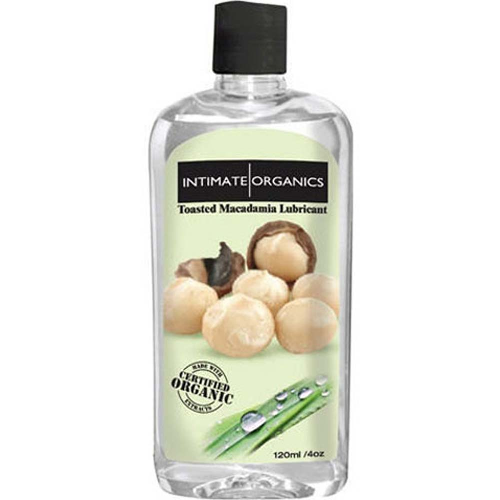 Intimate Organics Toasted Macadamia Lubricant 4 Fl. Oz. - View #1