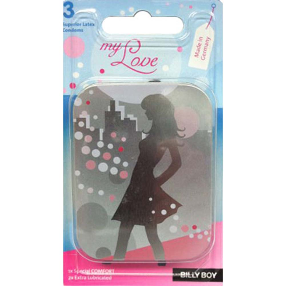 Billy Boy My Love Condoms 3 Pack - View #1
