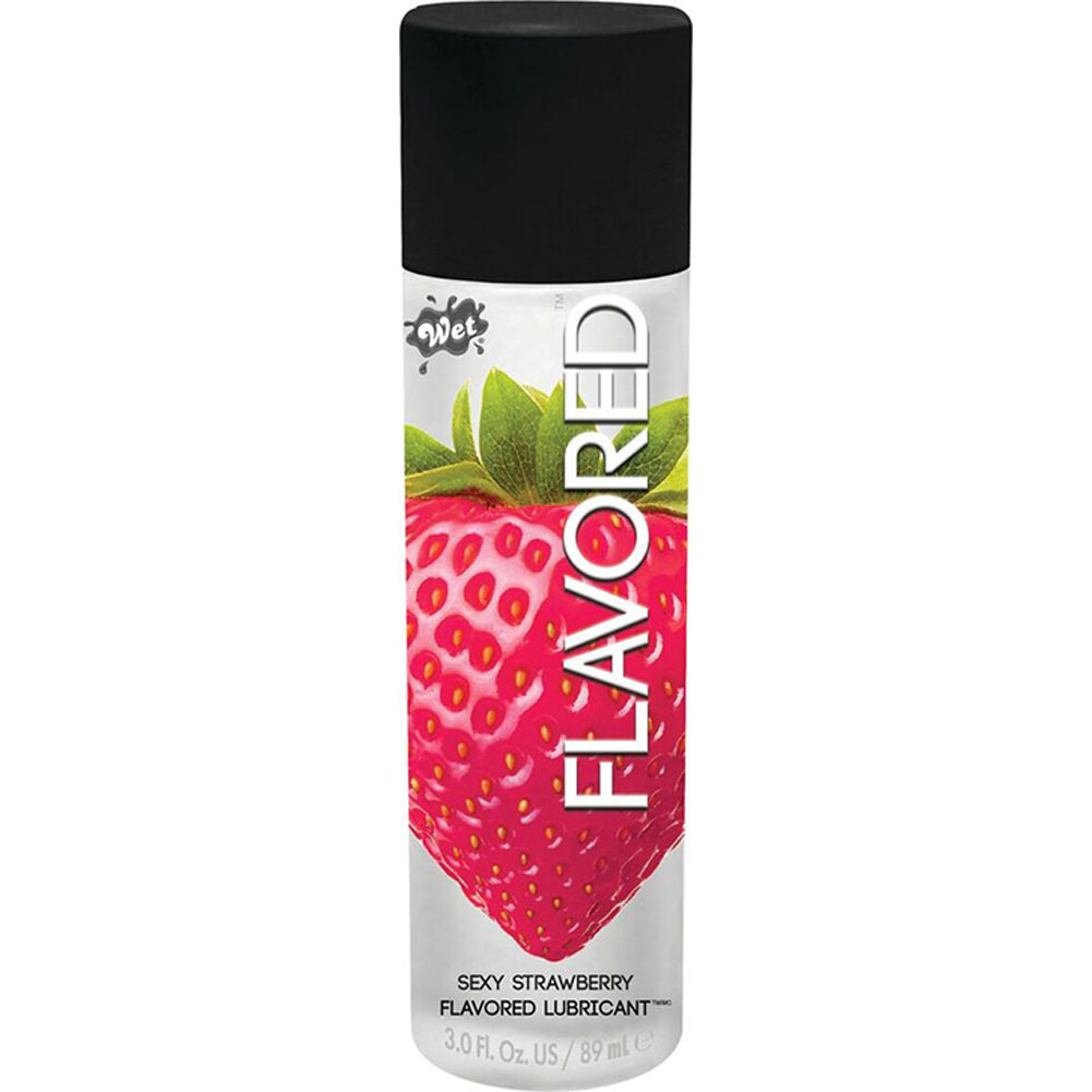 Wet Flavored Gel Lubricant 3.6 Oz Kiwi Strawberry - View #1