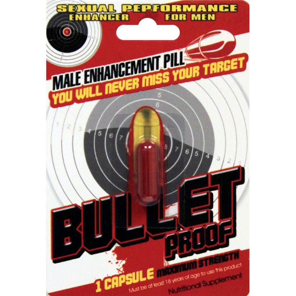 Bullet Proof Male Enhancement Pill 1 Ct - View #1