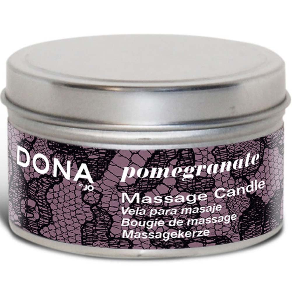 Dona Relax Massage Candle Pomegranate 4 Oz. - View #1
