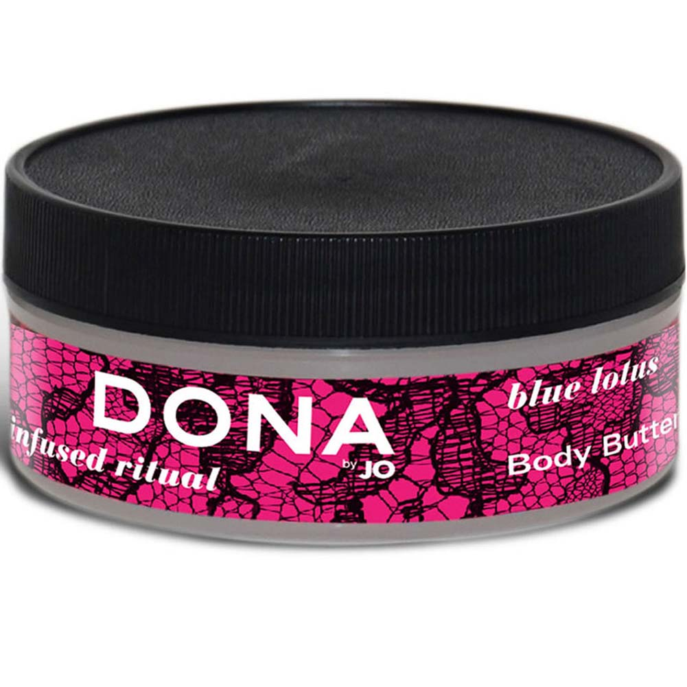 Dona Nourish Body Butter Blue Lotus 4 Fl. Oz. - View #1