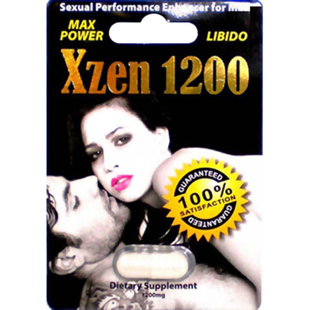 XZen 1200 Sexual Performance Enhancer for Men - View #1