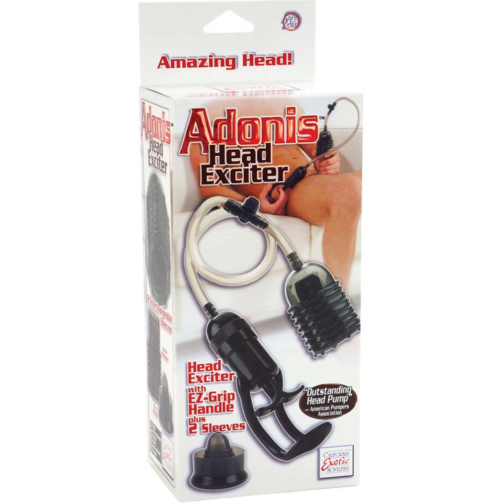 Adonis Head Exciter with EZ Grip Handle Black - View #4
