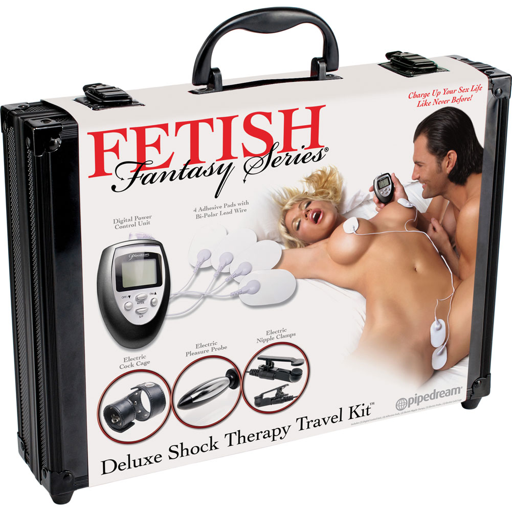 Fetish Fantasy Series Deluxe Shock Therapy Travel Kit - View #4