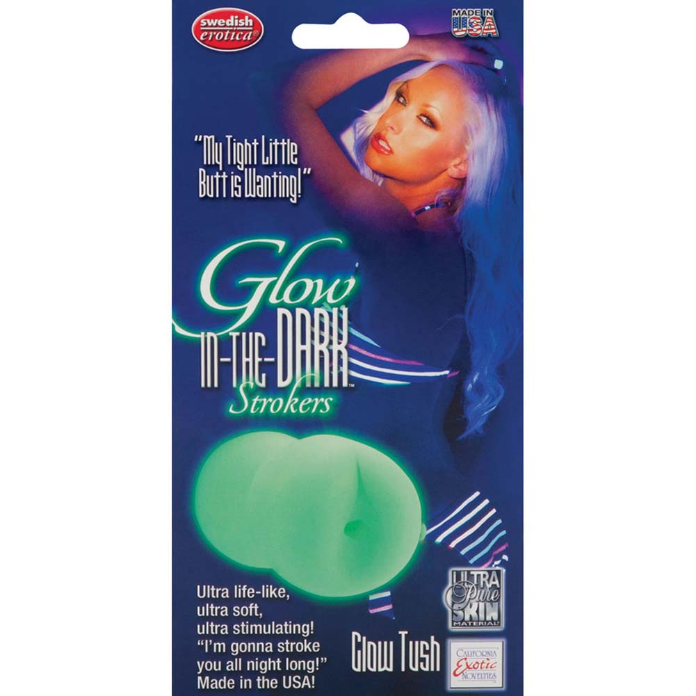 "Glow in the Dark Strokers Glow Tush Masturbator 5.5"" - View #1"