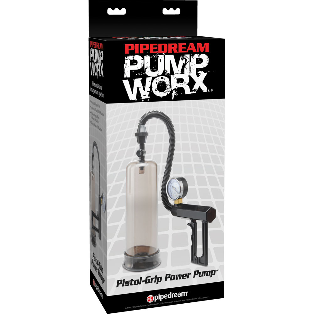 Pump Worx Pistol Grip Power Pump Black - View #4