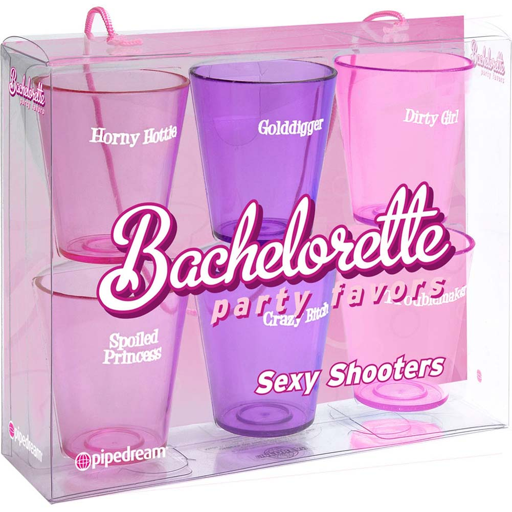 Bachelorette Party Favors Sexy Shooters Display Set of 6 - View #1