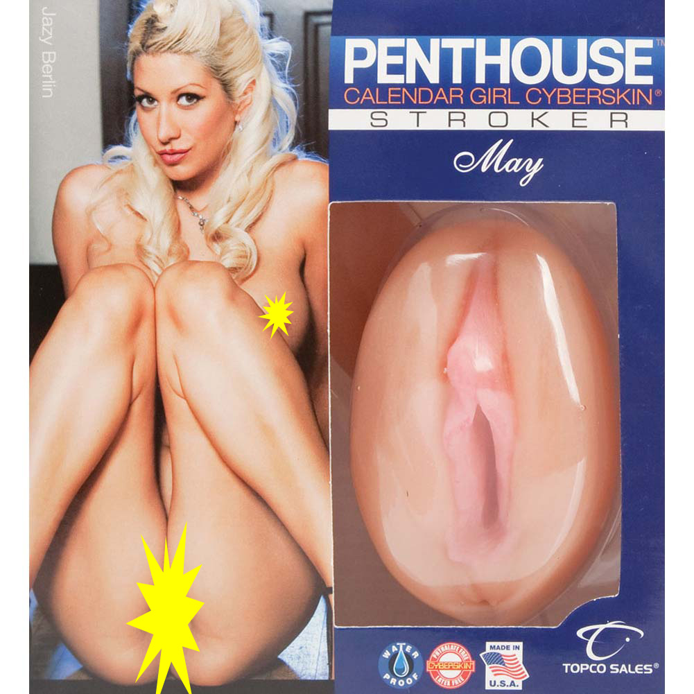 Penthouse Calendar Girl CyberSkin Stroker May Jazy Berlin - View #1