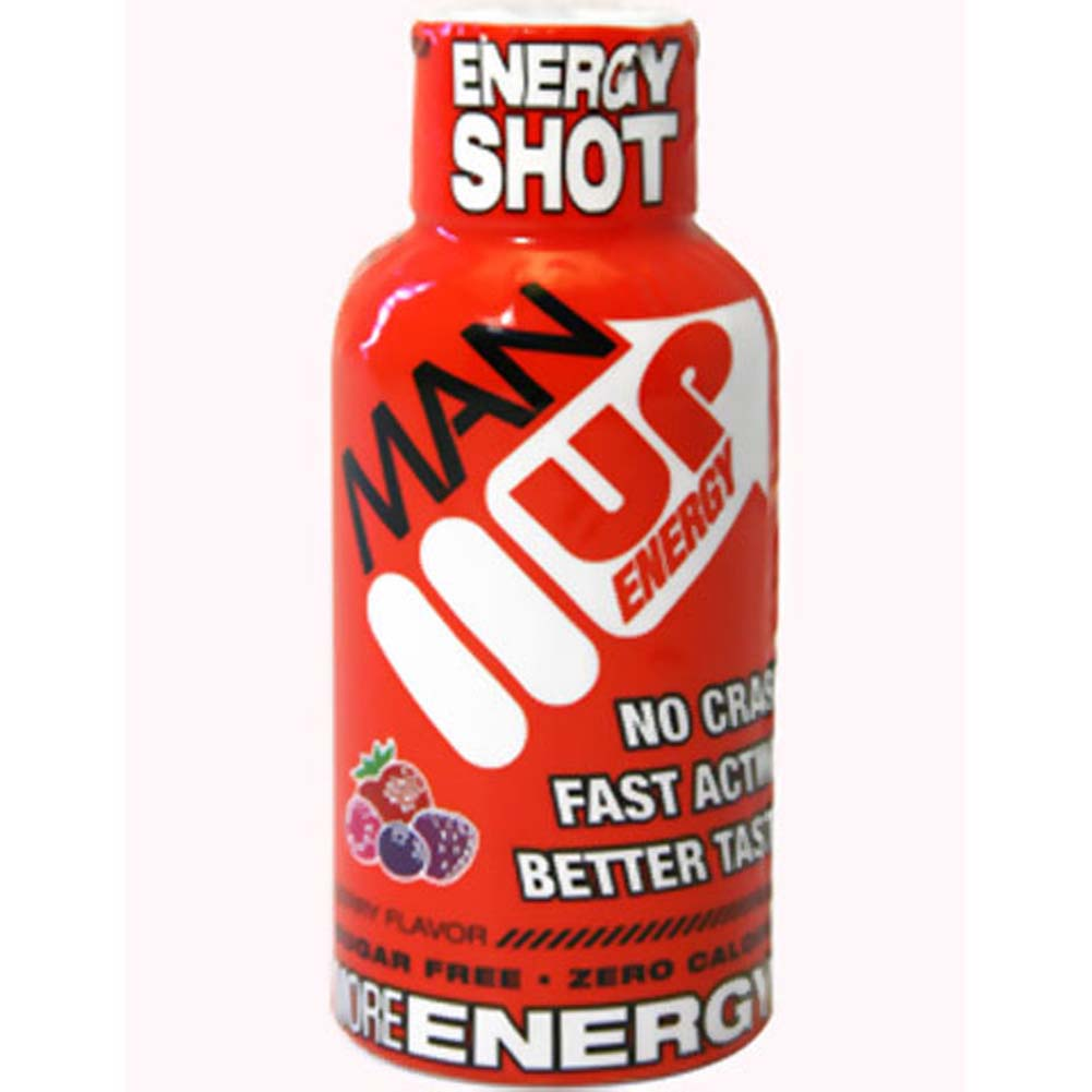 Man Up Energy Shot Berry 2 Fl. Oz. - View #1