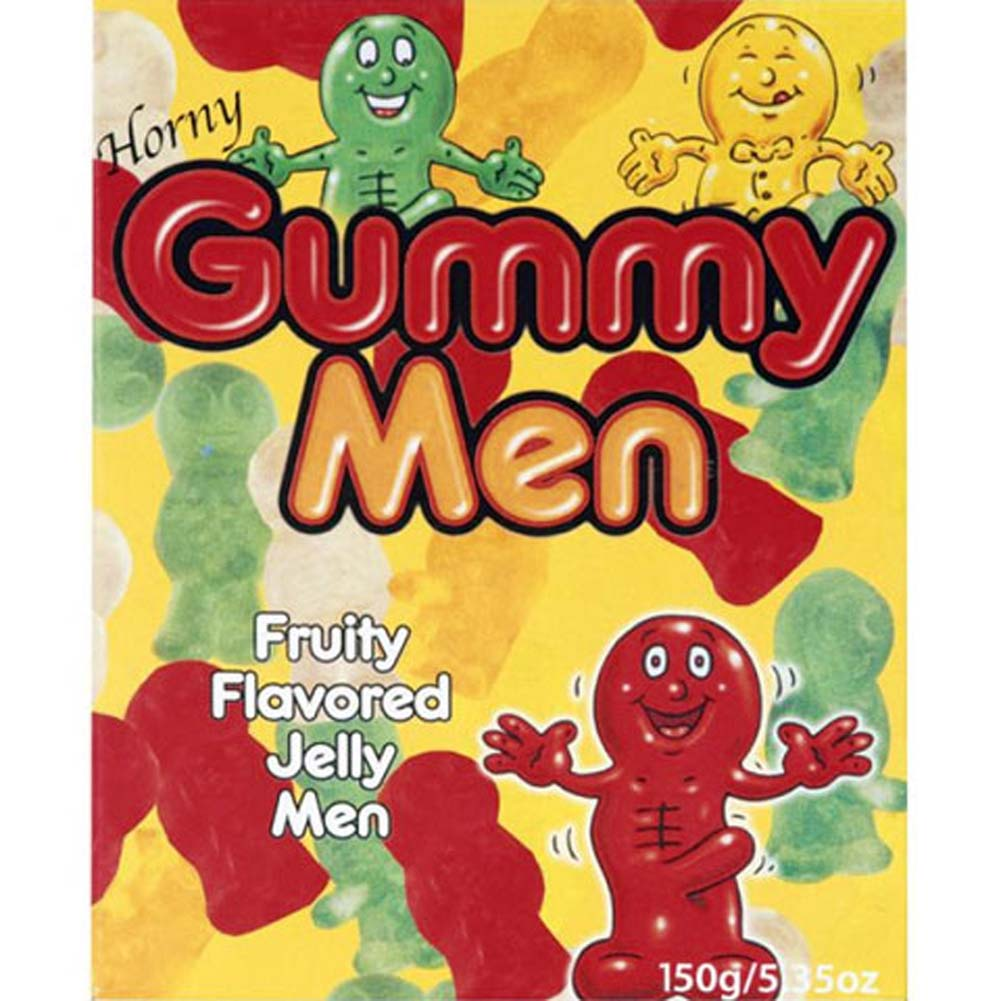 Horny Gummy Men - View #1