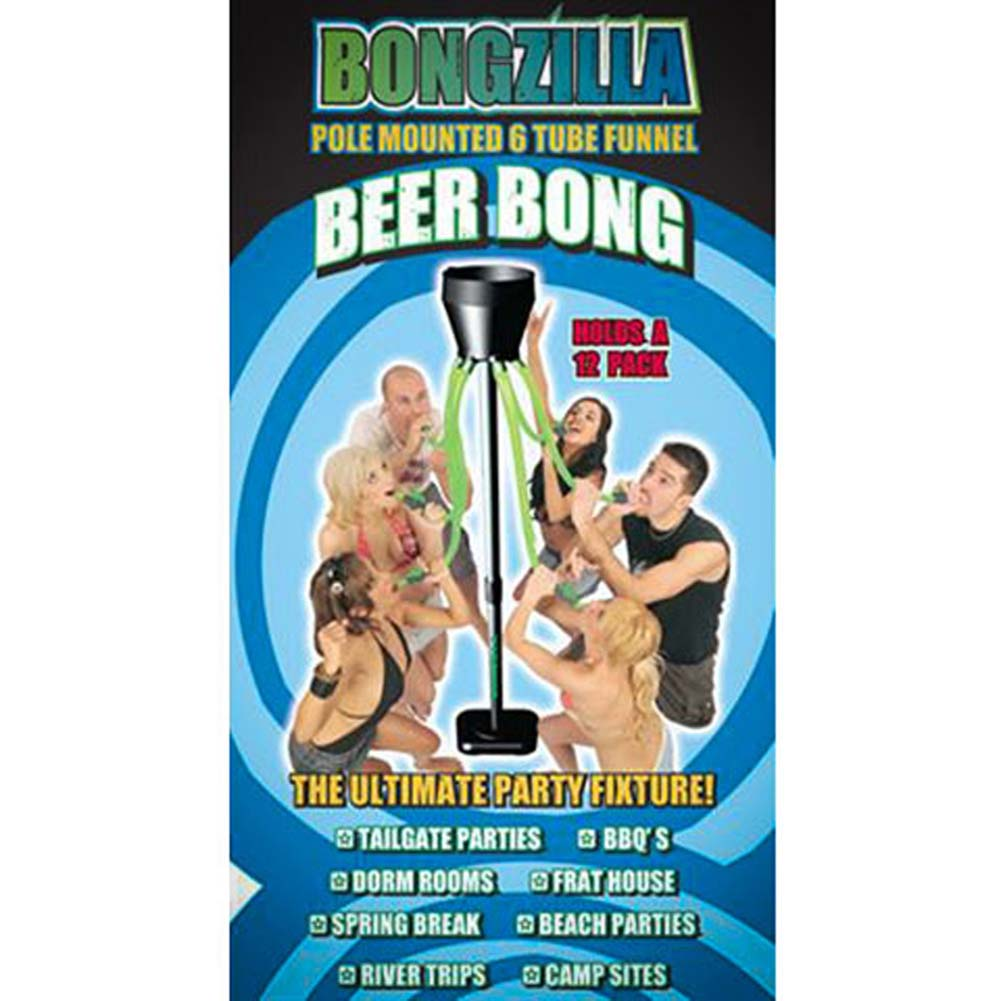 Bongzilla 6 Tube Beer Bong with Nozzles - View #4