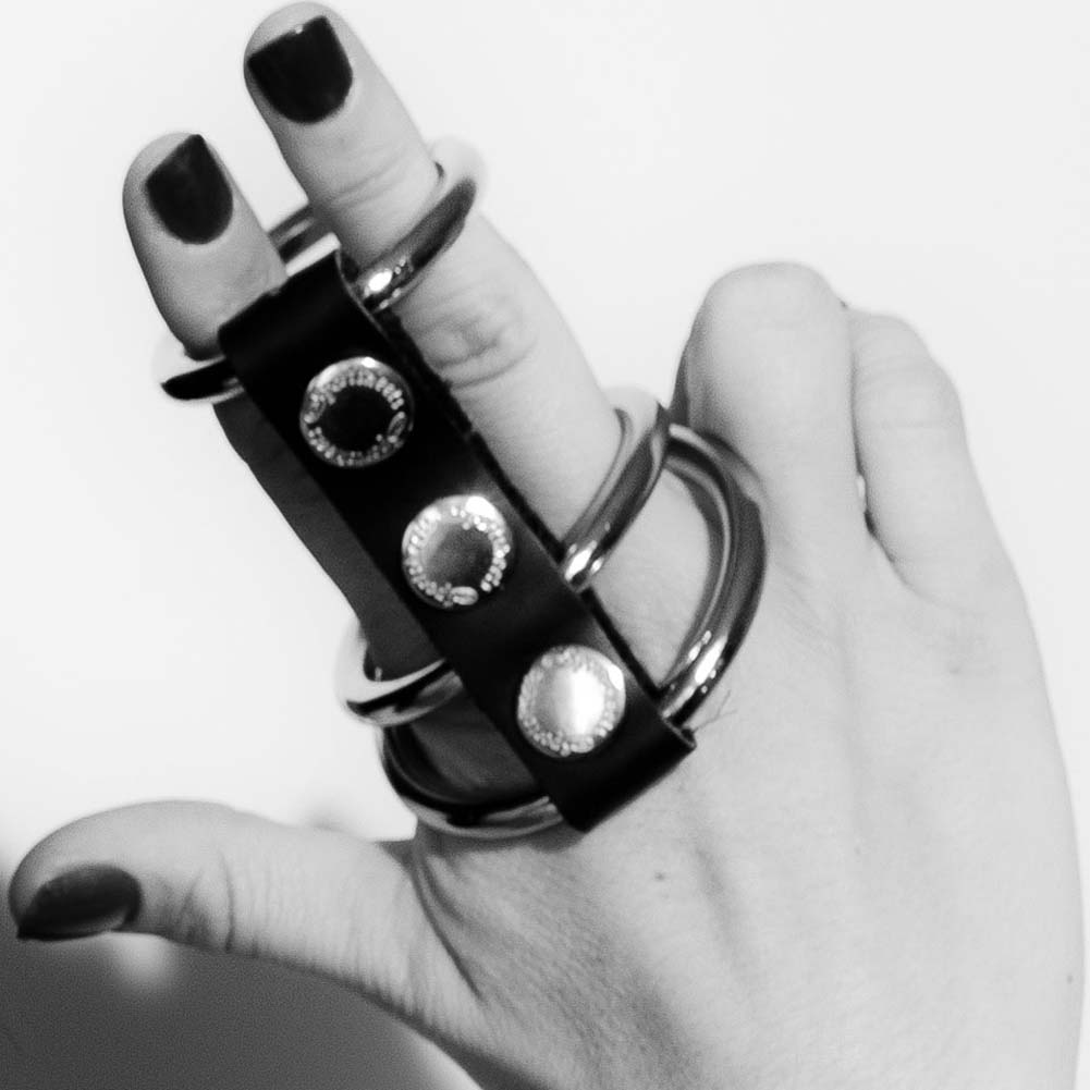 Sex and Mischief SM 3 Ring Cock Cage for Men - View #1
