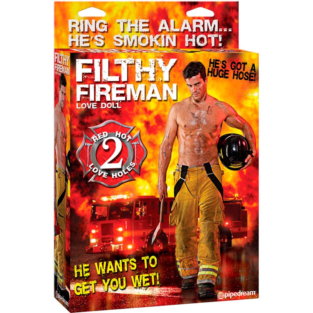 Filthy Fireman Inflatable Love Doll RbDV - View #4