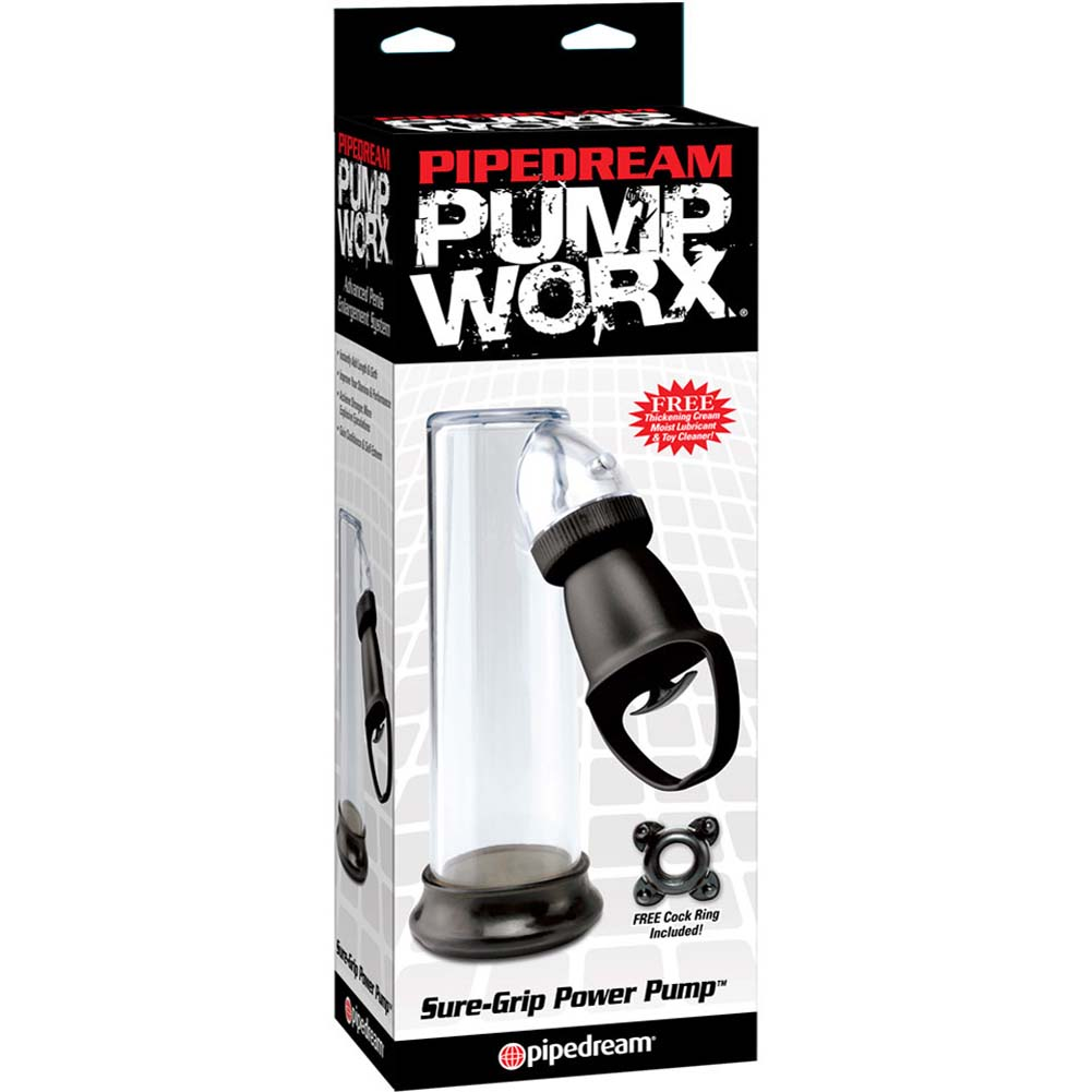 "Pipedrean Pump Worx Sure Grip Power Pump 9"" Black - View #4"