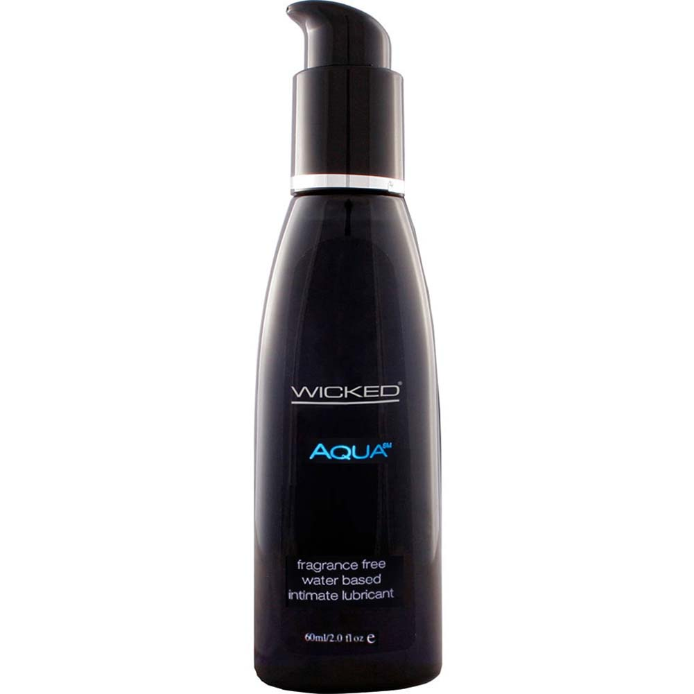 Wicked Aqua Water Based Intimate Lubricant 2 Fl.Oz 60 mL - View #1