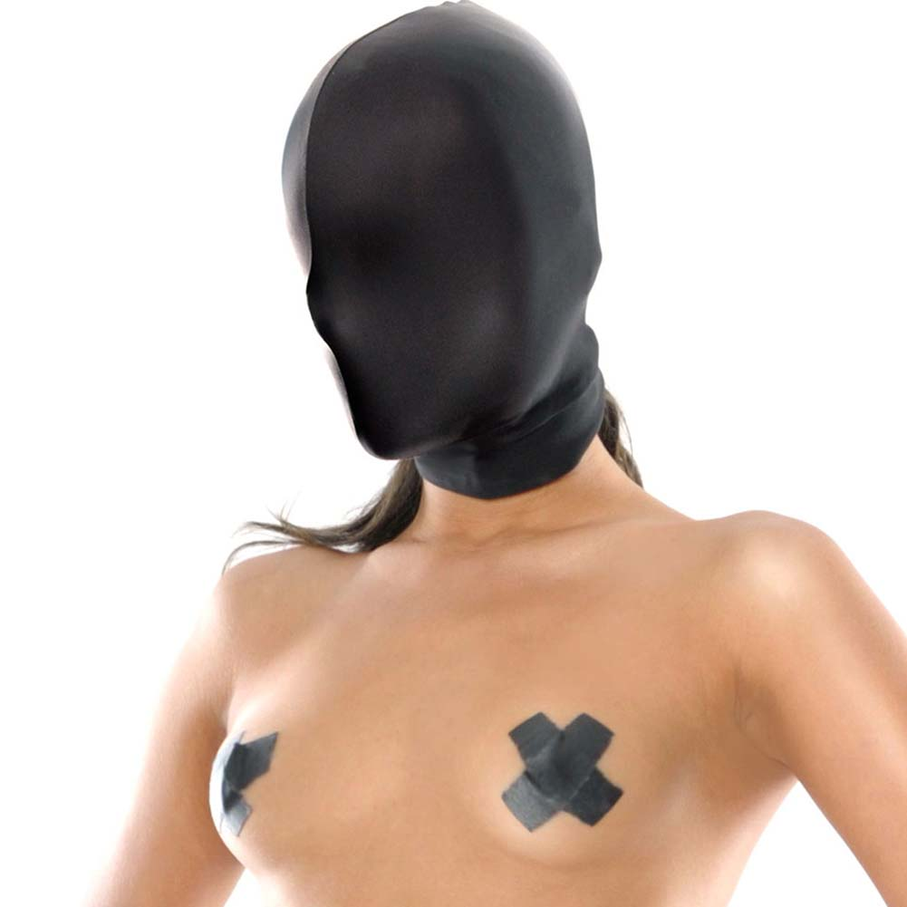 Fetish Fantasy Series Spandex Full Face Hood Black - View #3