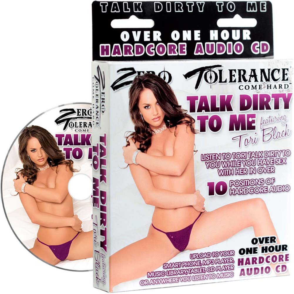 Zero Tolerance Talk Dirty To Me Tori Black Audio CD - View #1