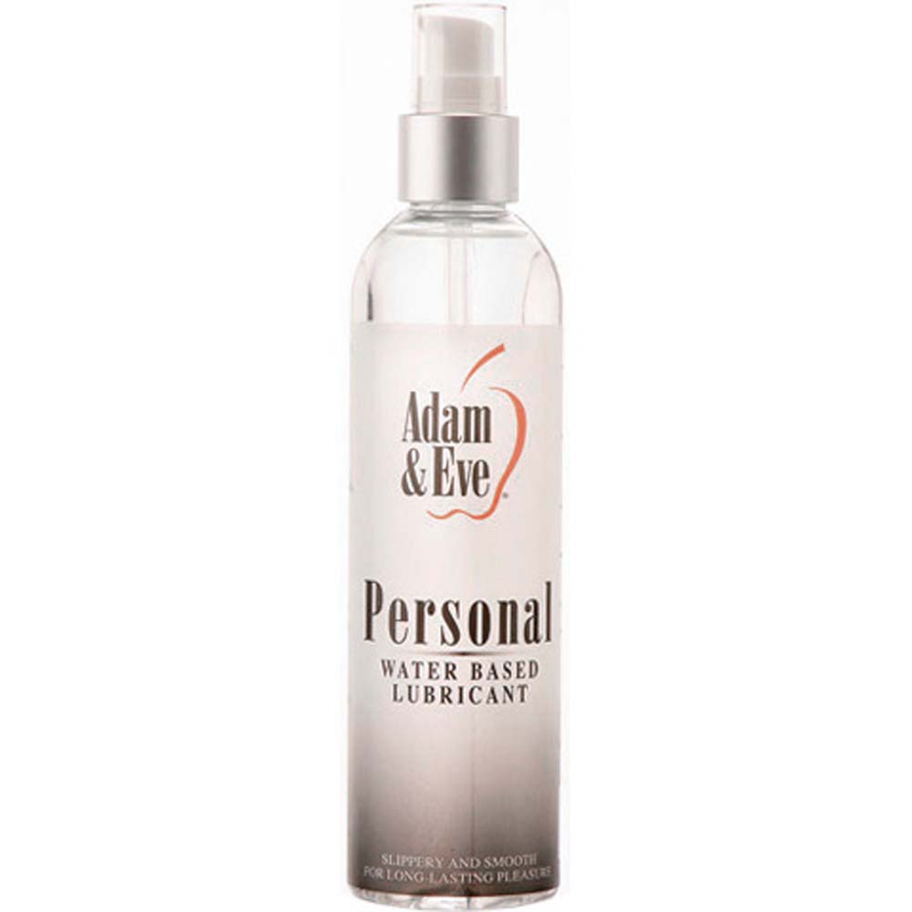 Adam and Eve Personal Water-Based Lubricant 8 Fl. Oz. - View #1