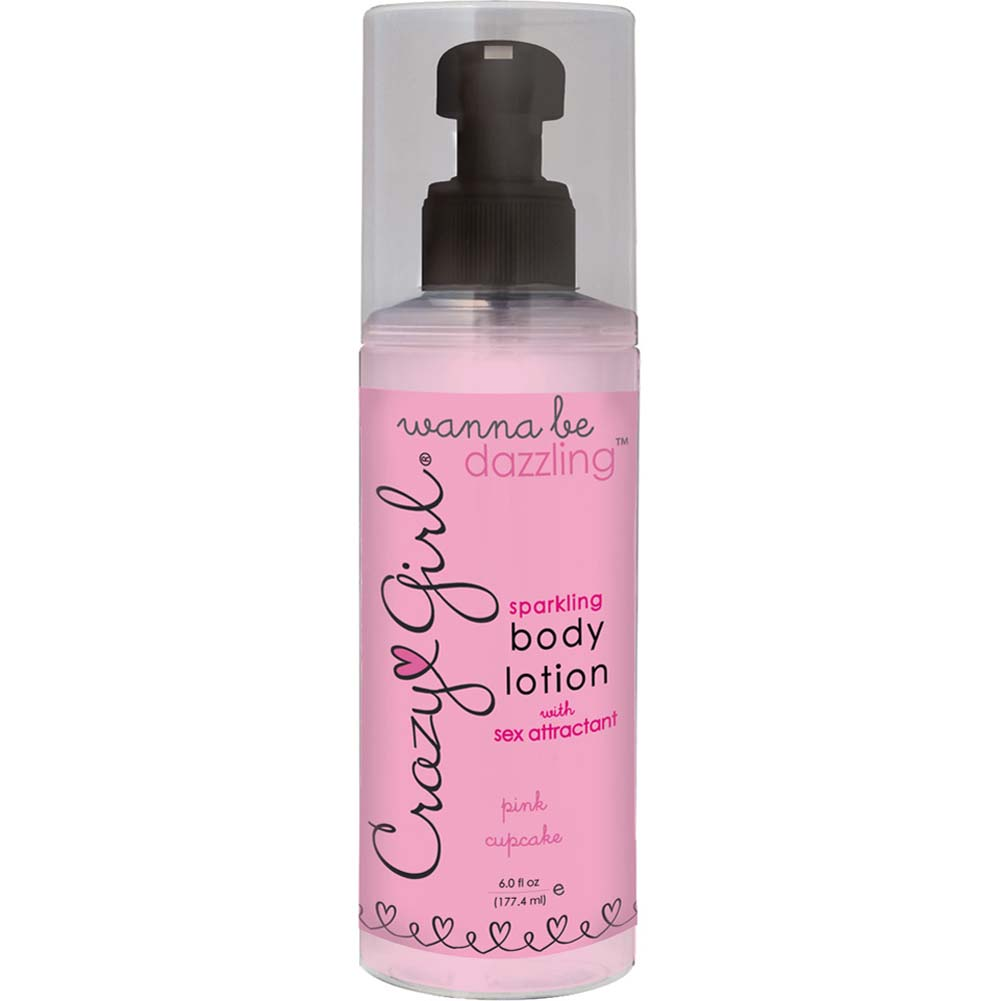 Crazy Girl Sparkling Body Lotion Pink Cupcake 6 Fl. Oz. - View #1