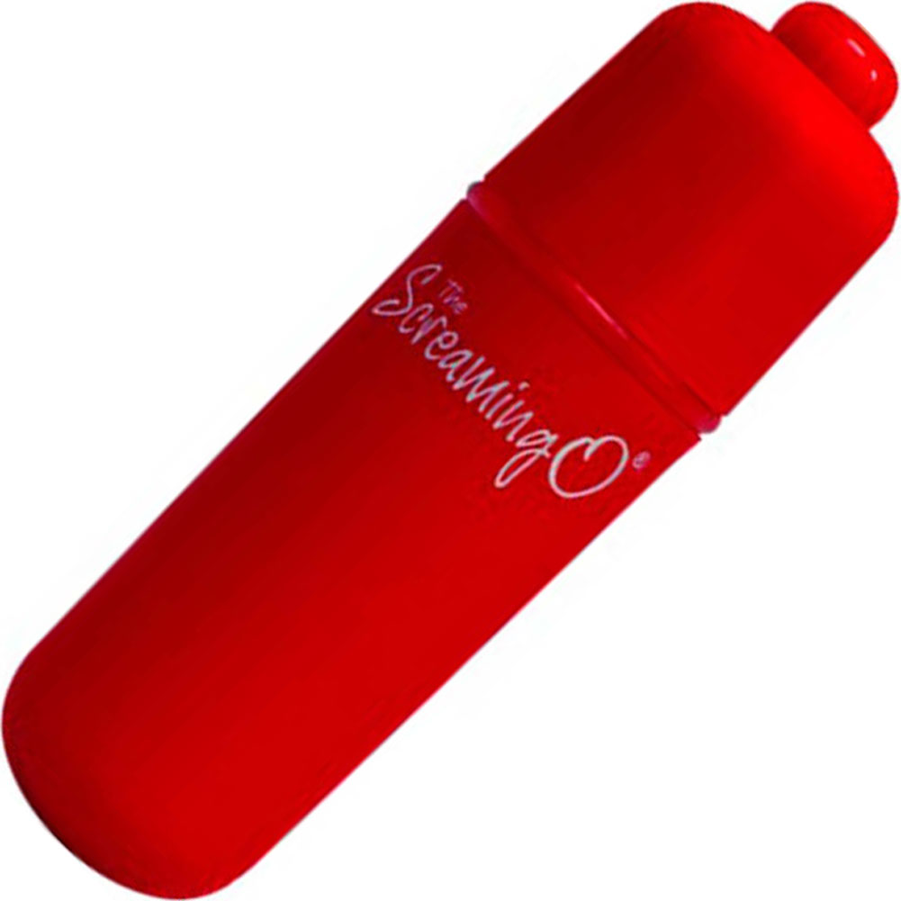 "Bushman Screaming O Soft Touch Vibrating Bullet 2.25"" Red - View #2"