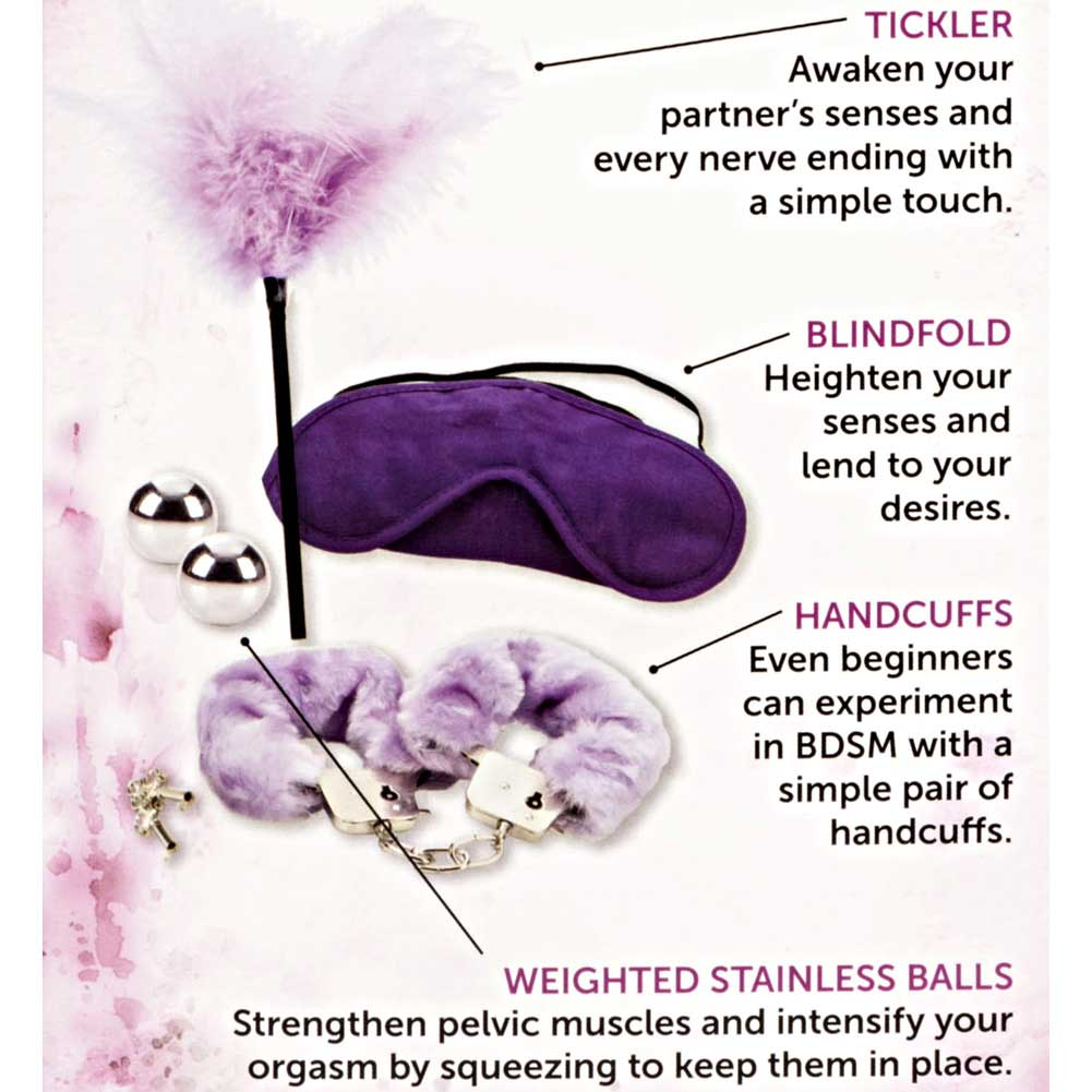 CalExotics Dr. Laura Berman Shades of Purple Playroom Kit - View #1