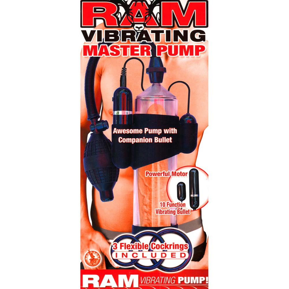 "Ram Vibrating Master Pump 8"" Clear - View #1"