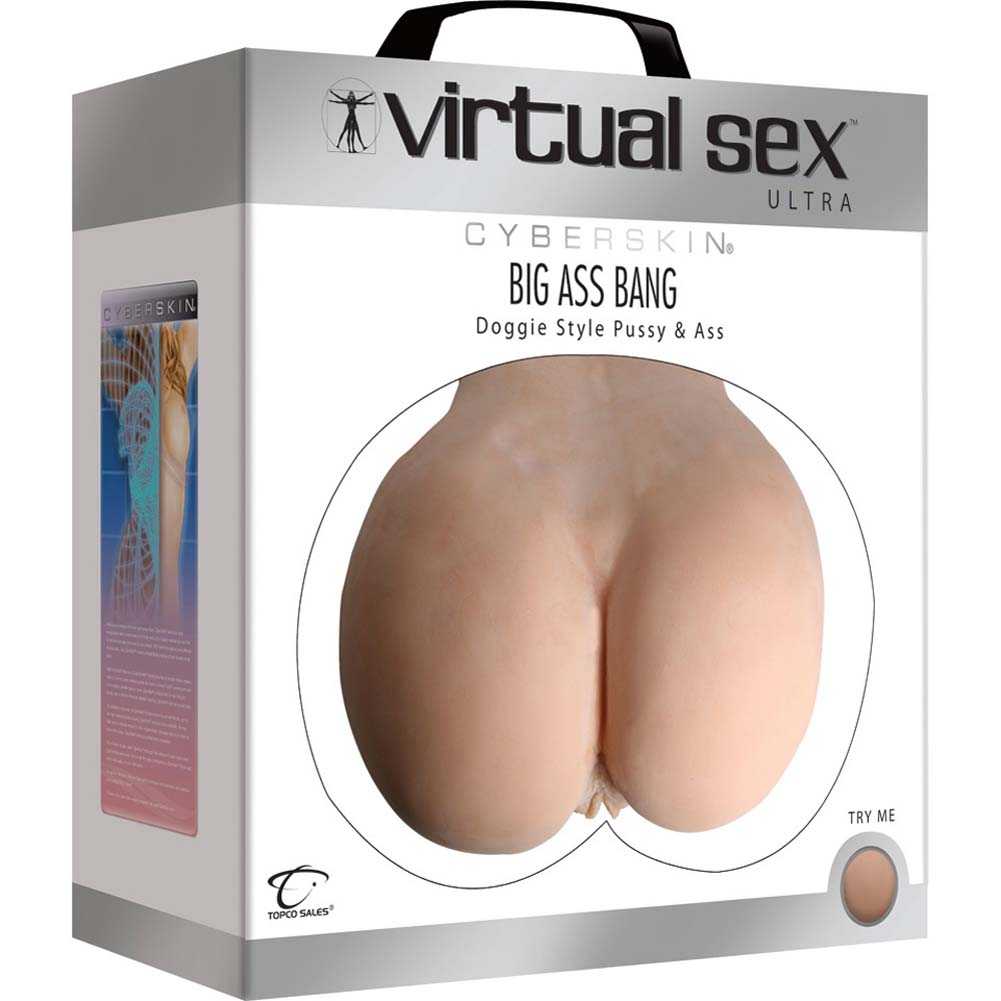 Virtual Sex CyberSkin Big Ass Bang Doggy Style Pussy and Ass - View #4