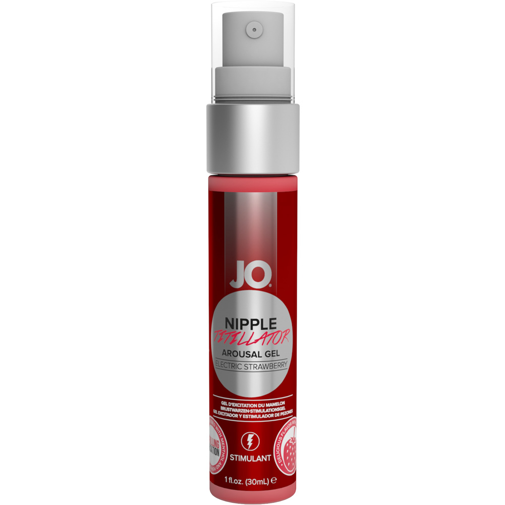 JO Nipple Titillator Arousal Gel Strawberry 1 Fl. Oz. - View #1