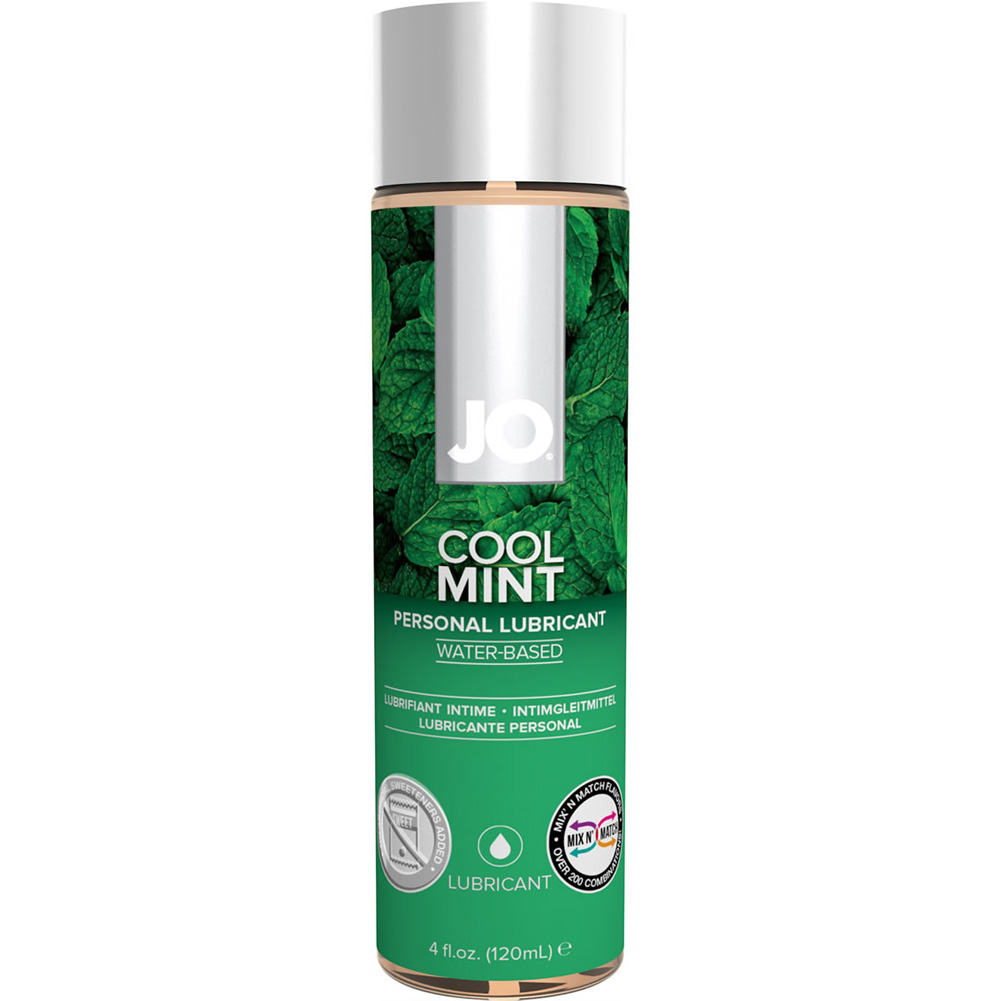 JO H2O Flavored Intimate Lubricant 4 Fl.Oz 120 mL Cool Mint - View #1