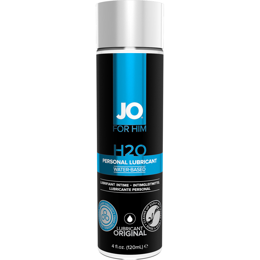 JO for Men H2O Lube 4 Fl. Oz. - View #1
