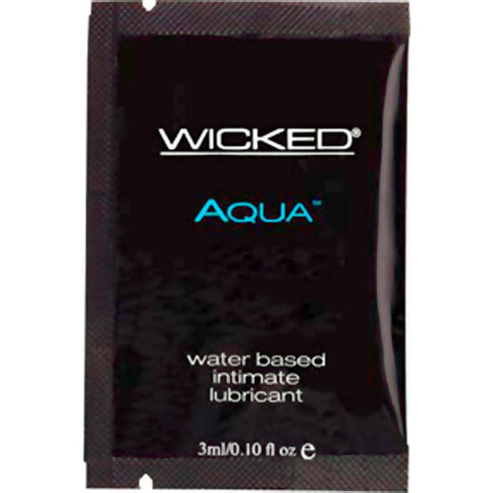Wicked Sensual Care Aqua Water Based Lube 0.10 Fl. Oz. - View #1