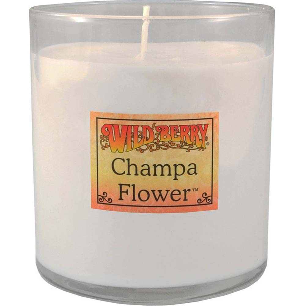 Candle Wildberry Champa Flower 8 Oz. - View #1